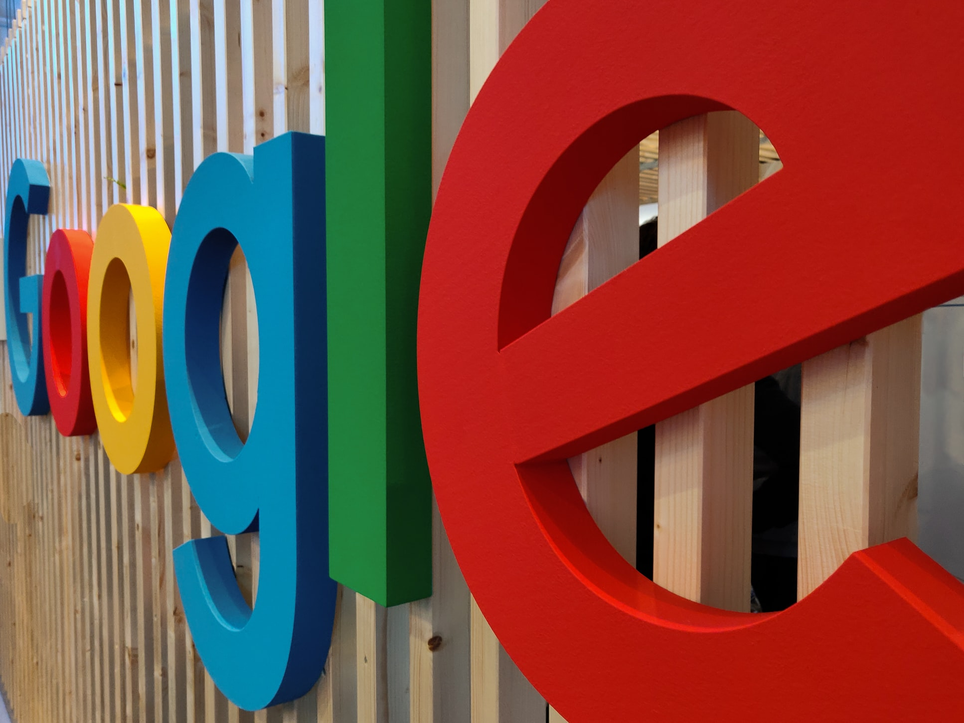 duzy napis google